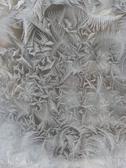 frosted window pane (Andrew Huff) Tags: winter chicago home window frost curls belltower