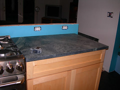 Soapstone Installation - Just brought in off the truck