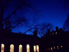 lowell house, harvard college (andromachestarr) Tags: cambridge college boston night university harvard lowellhouse dininghall ivyleague