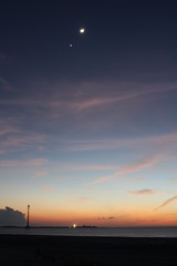 Good Bye 2008 (Global Reactions) Tags: sunset moon venus mercury planets jupiter fortdesoto esd earthandspace 123108 20081231 Astrometrydotnet:status=failed 12312008 december312008 happynewyearflorida bestnewcomer astro:subject=moon astro:subject=venus 20081231232714gmt Astrometrydotnet:id=alpha20090333929620 astro:subject=jupiter Astrometrydotnet:status=jupiter astro:subject=mercury astro:gmt=20091331t2327 182714 Astrometrydotnet:status=venus Astrometrydotnet:status=moon Astrometrydotnet:status=mercury competition:astrophoto=2012