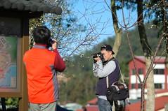 日月潭賞梅趣 TAIWAN DSC_0930 (Ming - chun ( very busy )) Tags: cloud water nikon d70 taiwan 台灣 雲 2009 水 日月潭 sunmoonlake 曙光 中台灣