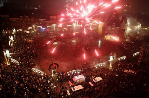 Vuurwerk Amsterdam
