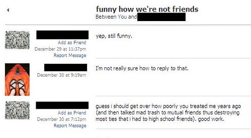 funny how we're not friends