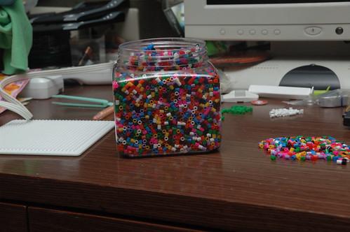 塑膠顆粒罐