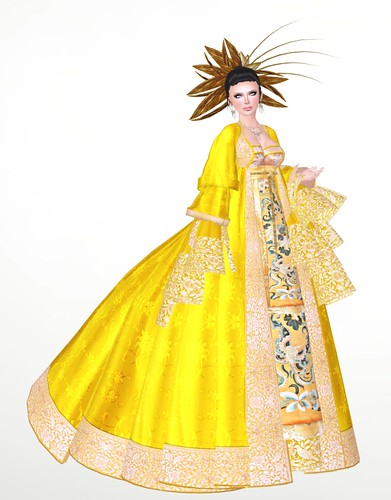 Nicky Ree - Empress Tang gown by you.