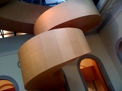 AGO iPhone photo 2 (@ThetaState) Tags: wood toronto ontario canada spiral january staircase ago frankgehry 2009 escaleras artgalleryofontario iphone3g baroquestair