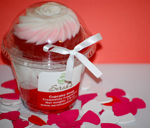 Cupid Corn Cupcake Soap