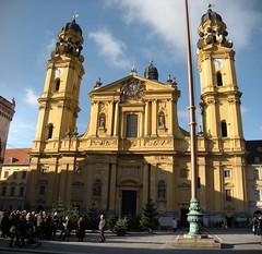Theatine Church Exterior