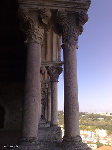 Colunas das galerias