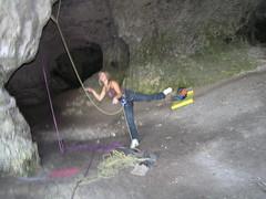 P7241919 (Jan Chvla) Tags: 2006 climbing polsko jaskynamamutova
