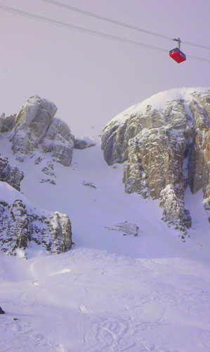 corbet's couloir and the tram