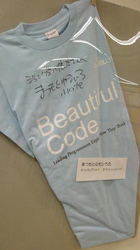 まつもとさんサインTシャツ
