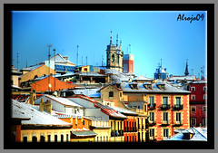 Nieve en Madrid (alrojo09) Tags: madrid spain nieve tejados alrojo09 flickrlovers