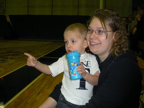 Trine Basketball 2009 046