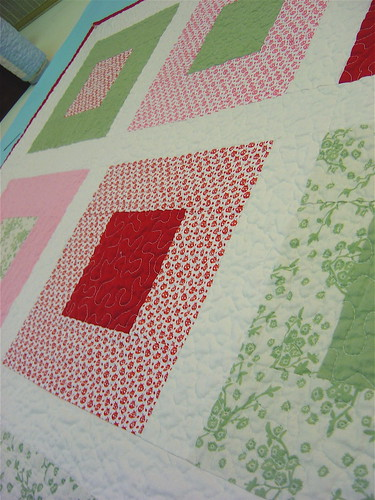 Ladybug Baby Quilt detail