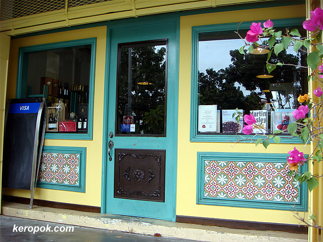 Shophouse with beautiful motifs