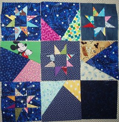Progress (Sdeste) Tags: quilt rocketman wip materialobsession forask