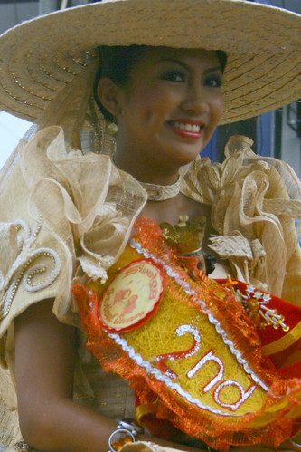 Alfe Marie Nathaniel Uy of Pakol- 2nd Runnerup Festival Queen 2009