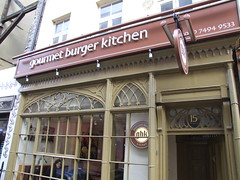 Gourmet Burger Kitchen Soho