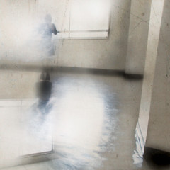 * (miu37) Tags: winter light room attic subtraction canon30d 短歌 artlibre nyoroko 『heavenlyblue』より