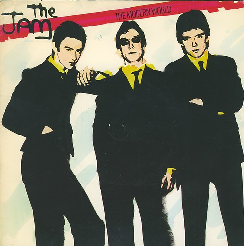 5 1977 the jam the modern world uk cover a photo on flickriver