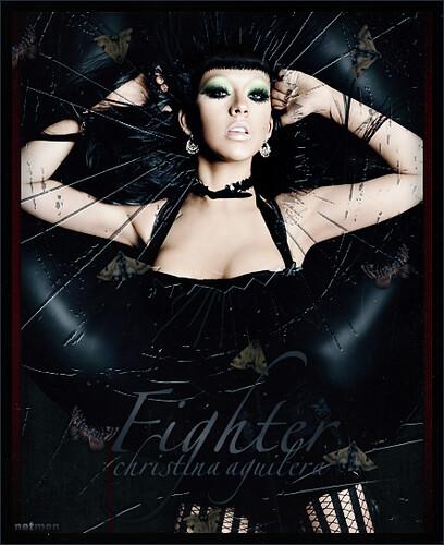 fighter christina aguilera album cover. Christina Aguilera -