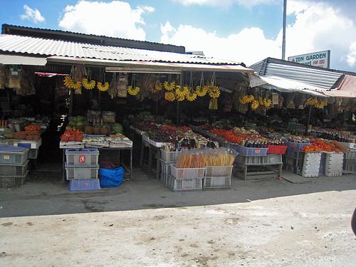 Kundasang  Fruit Stalls