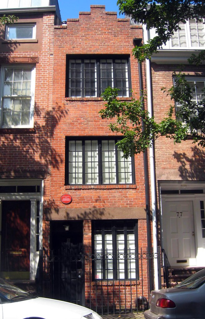 Skinniest house in NYC