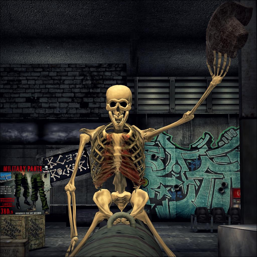 *BC322 Skull&Bones* Headquarter
