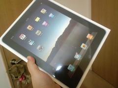 iPadが届いた!