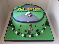Ben 10 Cake (Sweet-Sassy) Tags: birthday cake baking 4th ben10