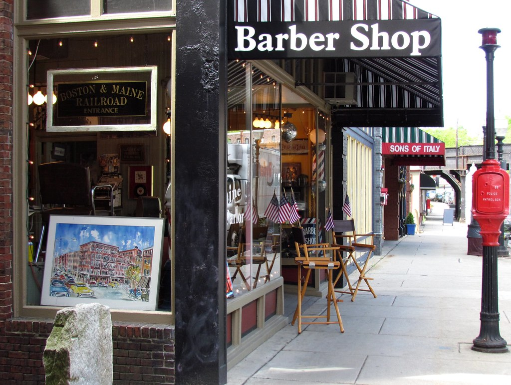 Barber Shop Portland Maine : lot of the downtown restaurants have these decks that overlook the ...