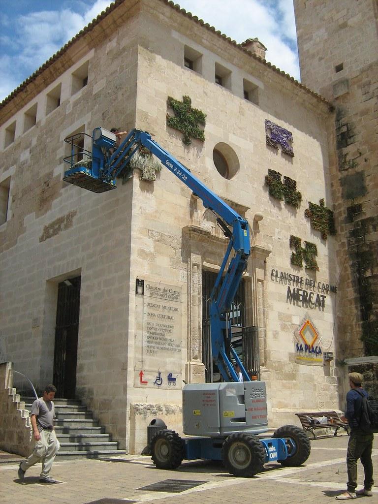 Maó Més Flors 2011- Mercat