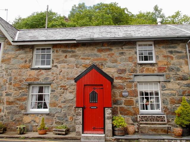 maison typique galloise