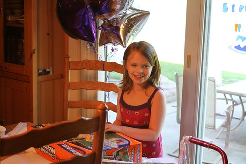 Alexis on her 8th birthday