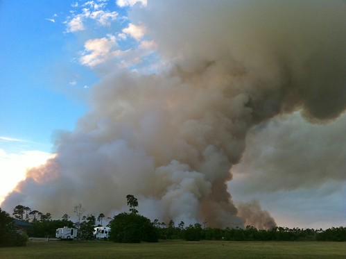 Gulf Shores Brush Fire The Alabama Weather Blog