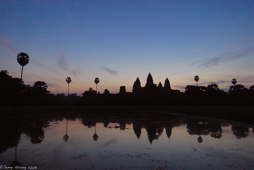 Sunrise at Angkor-wat