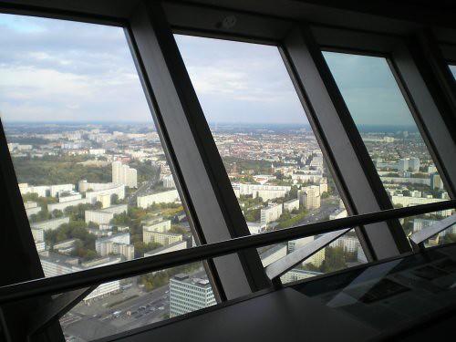 El mirador de la Fernsehturm