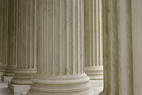 Supreme Court Columns Reworked in Aperture