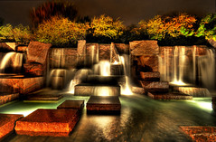 FDR Memorial (NearDC) Tags: longexposure night waterfall dc washington memorial hdr fdr gmart 5xp goldenphotographer neardc