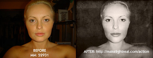 Retouch before and after 2