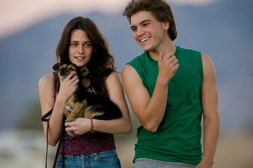 Kristen Stewart, star of The Cake Eaters in photo from Into The Wild with Emile Hirsch