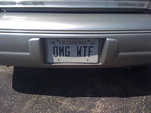 Awesome license plate