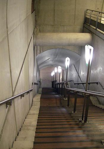 Escalier RER E