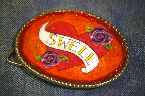 swell belt buckle