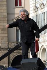 V2-Day: Beppe Grillo (rogimmi) Tags: torino italia vday legge beppegrillo secondo televisione giornali editoria giornalisti informazione finanziamento vaffaday v2day