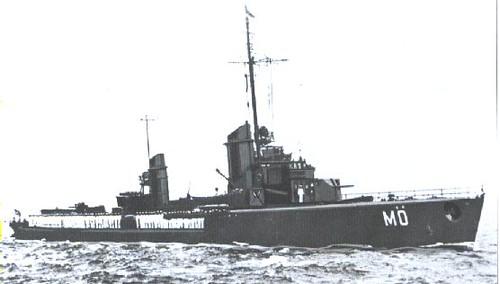 Modelo de barco alemán al que el Campbeltown debía parecerse