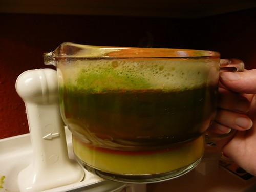 Green Lemonade, before I mixed it-isn't it beautiful?!