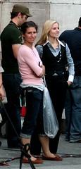 Kristen Bell on Set (TMNYNY) Tags: newyorkcity newyork film manhattan columbuscircle wheninrome kristenbell markstevenjohnson