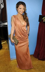 Tila Tequila arrives to the 2008 MTV Movie Awards on June 1, 200